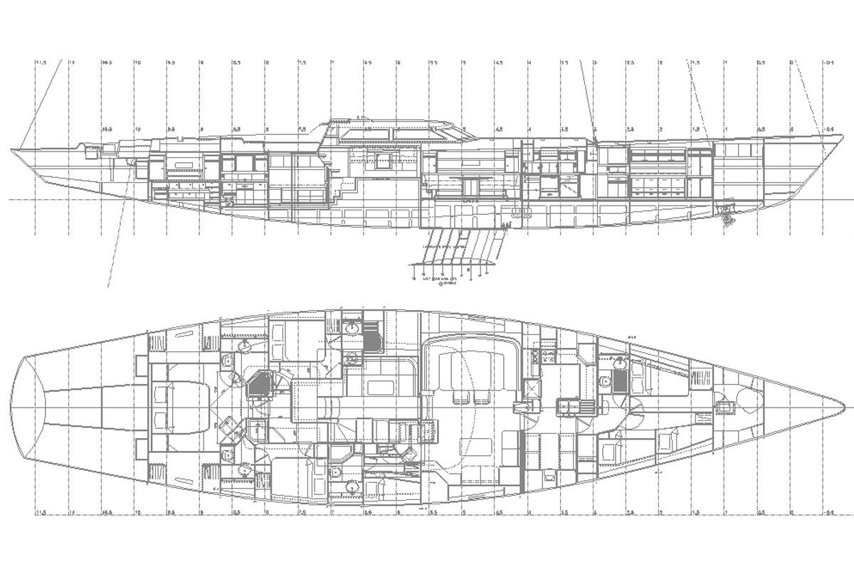 Nauta-yacht-drawing